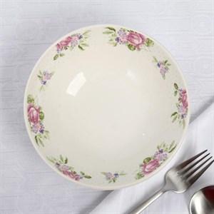 """Тарелка глубокая """"Розы"""" 350 мл"""