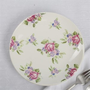 "Тарелка ""Розы"" диаметр 19 см"