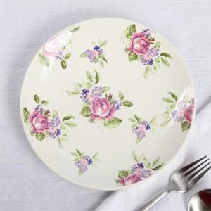 "Тарелка ""Розы"" диаметр 22 см"
