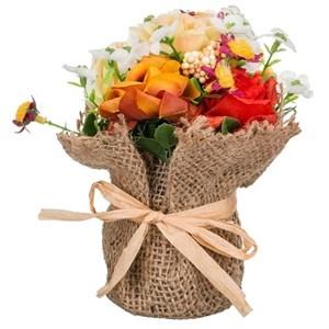 Цветы искусственный в мешочке