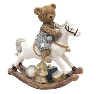 "Статуэтка ""Медвежонок на лошадке"""