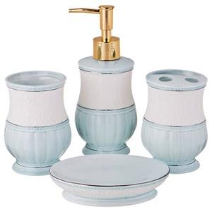 """Набор для ванной комнаты """"Голубая нежность"""""""