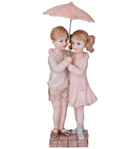 """Статуэтка """"Дети под зонтом"""""""