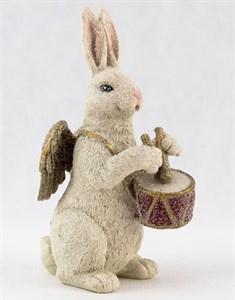 """Статуэтка """"Кролик с барабаном"""" высота 21 см"""