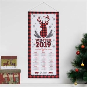 Календарь текстильный на 2019 год