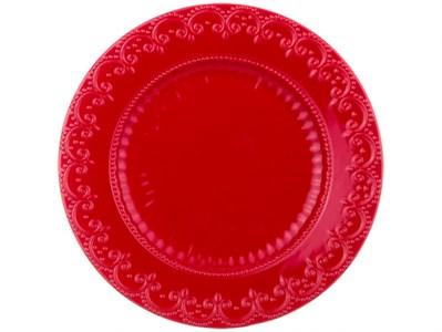 """Тарелка """"Новогоднее кружево"""" 22 см"""