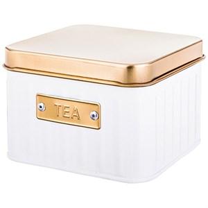 Шкатулка металлическая для чайных пакетиков