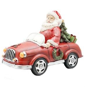 "Статуэтка ""Дед Мороз на машине"""