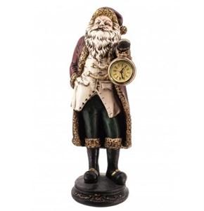"""Статуэтка-часы """"Дед Мороз"""" высота 40 см"""