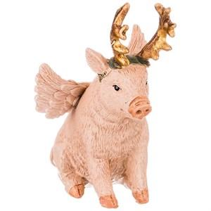 "Статуэтка ""Свинка с рожками. Символ 2019 года"""