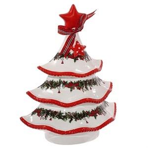 """Конфетница """"Новогодняя елка"""" высота 29 см"""