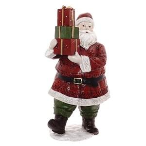 """Статуэтка """"Дед Мороз с подарками"""" высота 23 см"""
