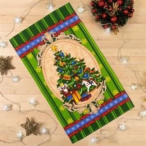 """Полотенце кухонное """"Новогодняя елка"""" 35х60 см"""