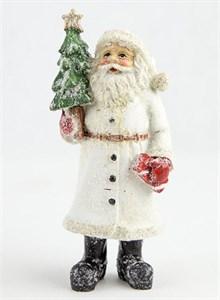 """Статуэтка """"Дед Мороз заснеженный"""" высота 13 см"""