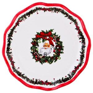 """Блюдо """"Дед Мороз"""" диаметр 25 см"""