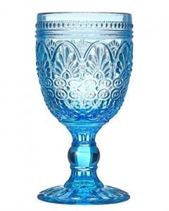 """Бокал """"Испания"""" 210 мл голубой из цветного стекла"""