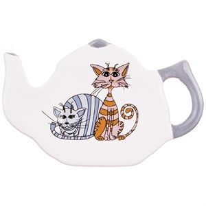 """Подставка под чайные пакетики """"Кошки"""""""
