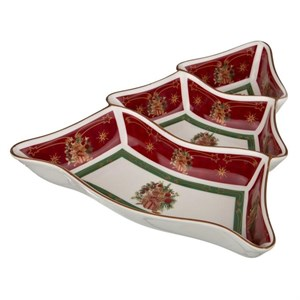 """Менажница """"Новогодняя елочка"""" в подарочной упаковке"""