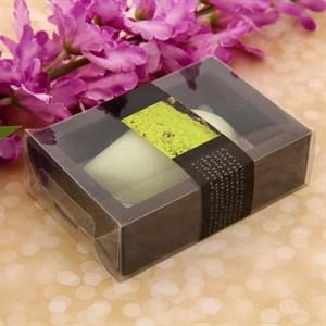 Мыло с ароматом зеленого чая в подарочной упаковке