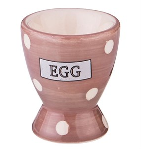 "Подставка под яйцо ""Горох"" бежевая"