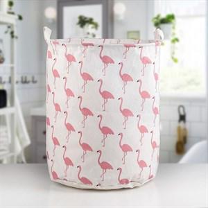 """Корзина для белья """"Фламинго"""" 35х60 см"""