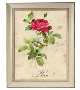 "Картина в раме ""Алая роза"""
