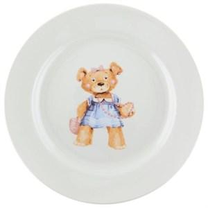 """Тарелка """"Медвежонок"""" 20 см в ассортименте, цена за 1 шт"""
