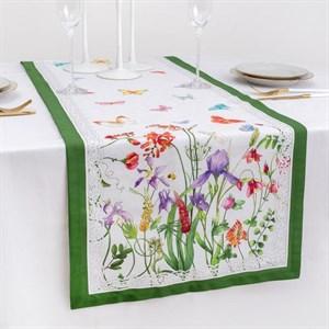 """Дорожка на стол """"Цветочная поляна"""" 40*146 см"""