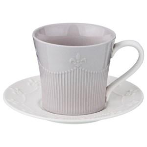 Кружка 200 мл с блюдцем кофейная