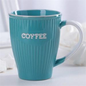 """Кружка """"Кофе"""" 270 мл голубая"""