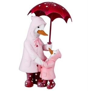 """Статуэтка """"Утки под зонтом"""""""