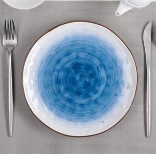 """Тарелка """"Испания"""" 22 см синяя"""