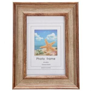 Фоторамка для фотографии 10х15 см состаренное золото