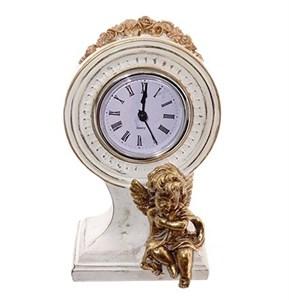 Часы настольные винтажные с ангелом