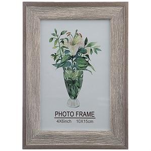 Фоторамка серая для фотографии 10х15 см
