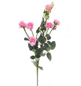 """Цветок искусственный """"Роза кустовая красная"""""""