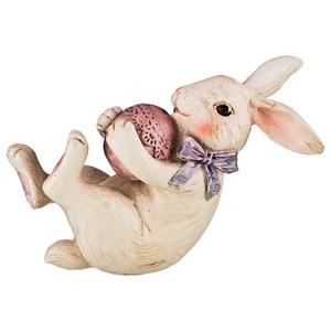 """Статуэтка """"Кролик с яйцом"""""""