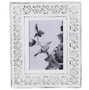 Фоторамка белая для фотографии 12х17 см