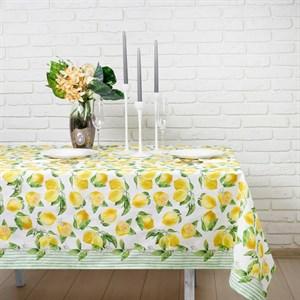 """Скатерть """"Лимоны"""" 147х180 см"""