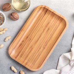 Блюдо деревянное 25х15 см