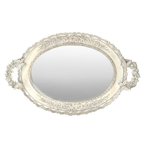 Поднос зеркальный 44х28 см
