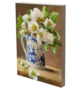"Панно ""Цветы в кувшине"" 29х42 см"