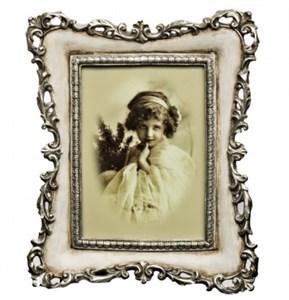 """Фоторамка """"Серебряная ваниль"""" для фотографии 10х15 см"""