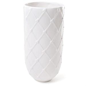 Ваза керамическая плетеная