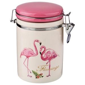 """Банка для хранения с клипсой """"Фламинго"""" 700 мл"""