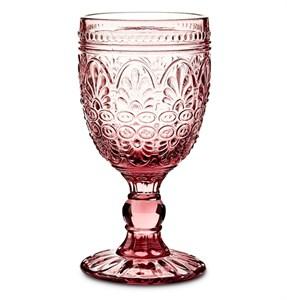 """Бокал """"Испания"""" 210 мл розовый из цветного стекла"""