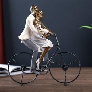 """Статуэтка """"Влюблённые на велосипеде"""""""