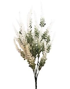 Цветок искусственный белый 35 см