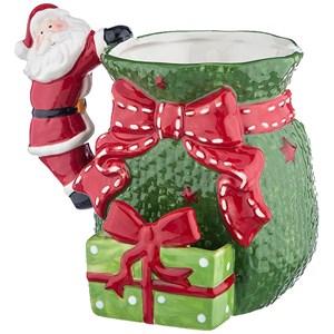 """Кружка """"Дед Мороз с подарками"""" 600 мл"""