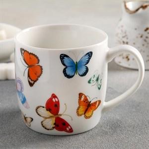 """Кружка """"Бабочки"""" 350 мл"""
